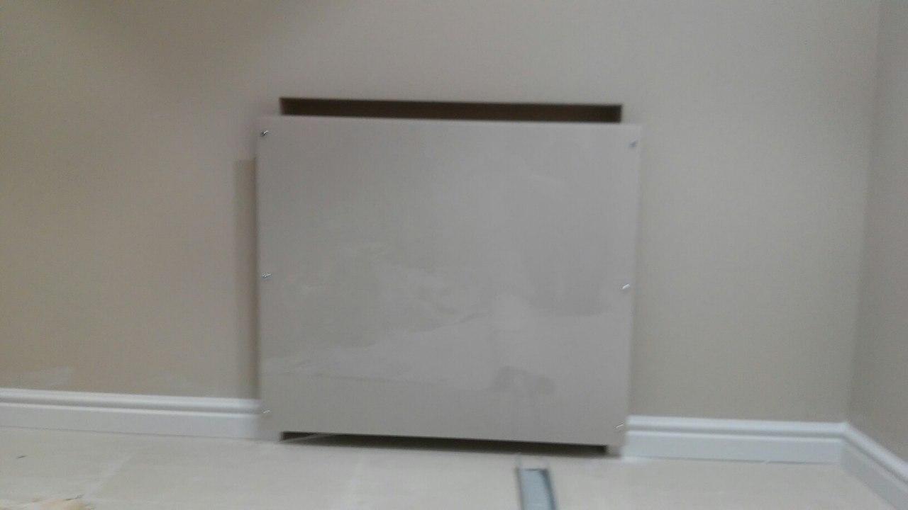 экран для батарей из стекла